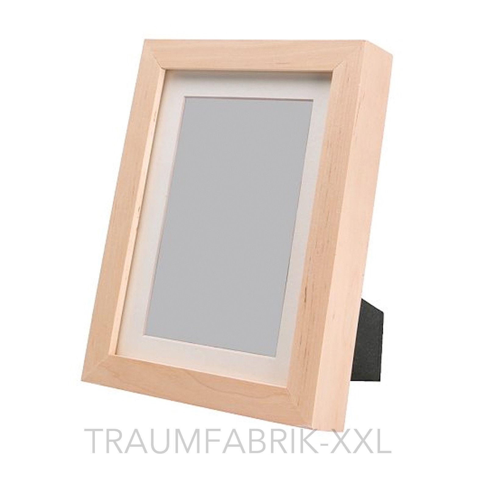 Bilderrahmen 10×15 cm Birke Holzbilderrahmen Holzrahmen Rahmen ...