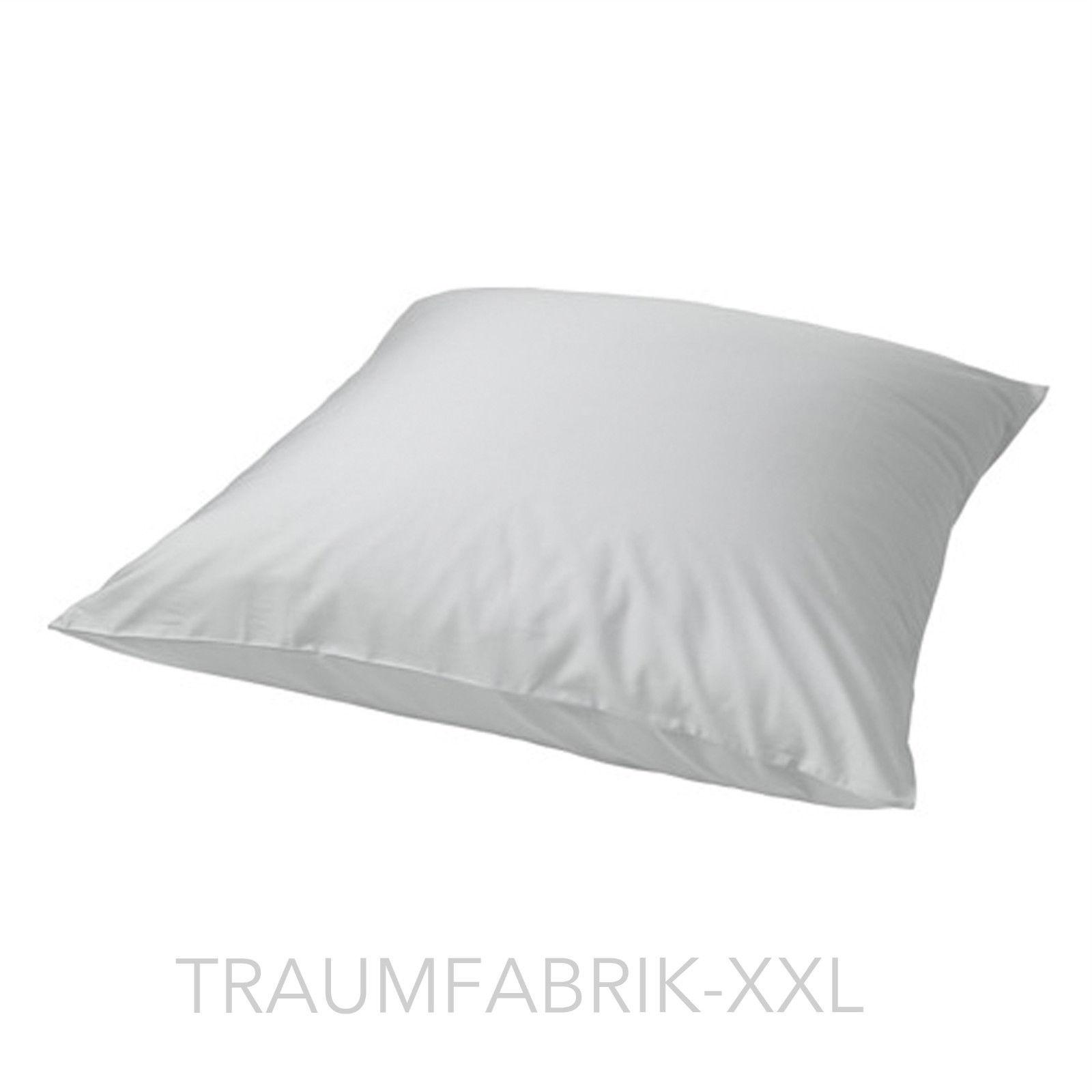 ikea nattjasm kopfkissenbezug 80 80 cm bezug hell grau kissenbezug kissenh lle traumfabrik xxl. Black Bedroom Furniture Sets. Home Design Ideas