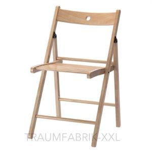 ikea terje klappstuhl buche massivholz holzstuhl design stuhl k chenstuhl neu traumfabrik xxl. Black Bedroom Furniture Sets. Home Design Ideas