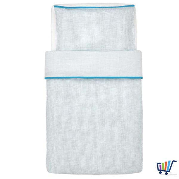Ikea Baby Bettwäsche ikea klämmig bettwäsche 110 125 35 55 cm 2 tlg bettwäscheset baby