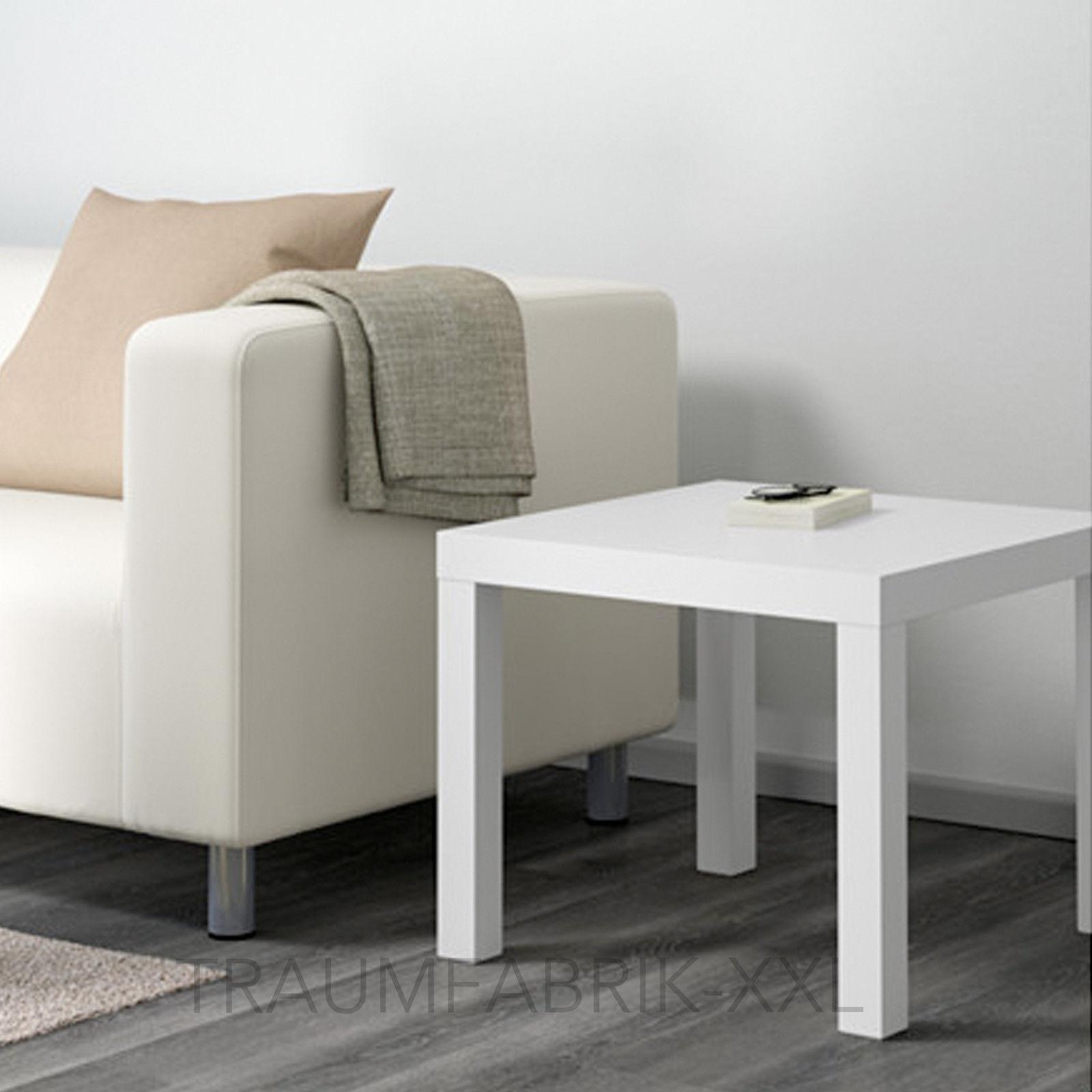Ikea Lack Beistelltisch In Weiß 55x55cm Couchtisch Sofatisch