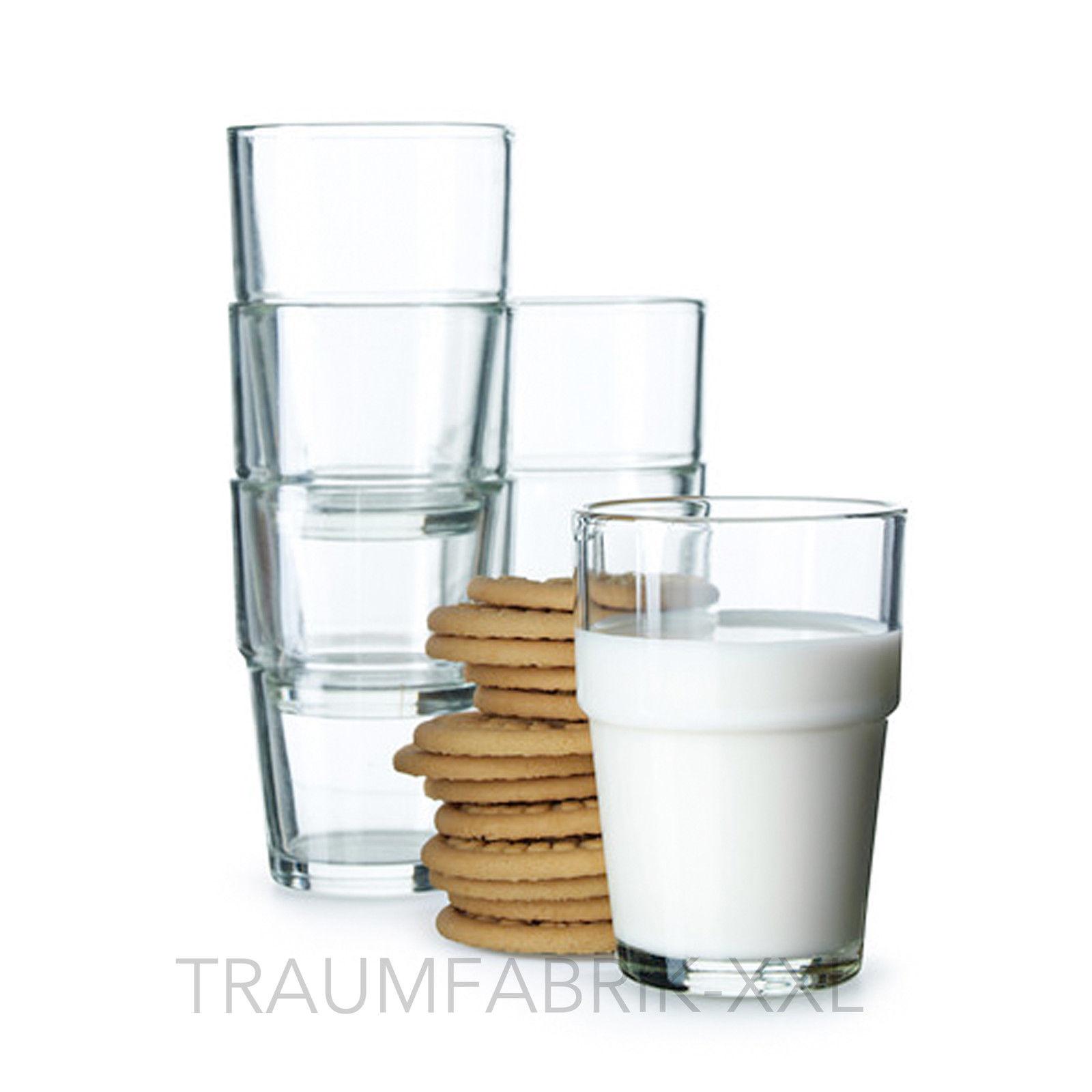 Ikea Gläser ikea 30 stück gläser wassergläser saftgläser glas wasserglas set