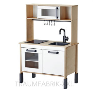 ikea duktig spiel k che kinder baby holz birke wohnen oberteil unterteil neu traumfabrik xxl. Black Bedroom Furniture Sets. Home Design Ideas