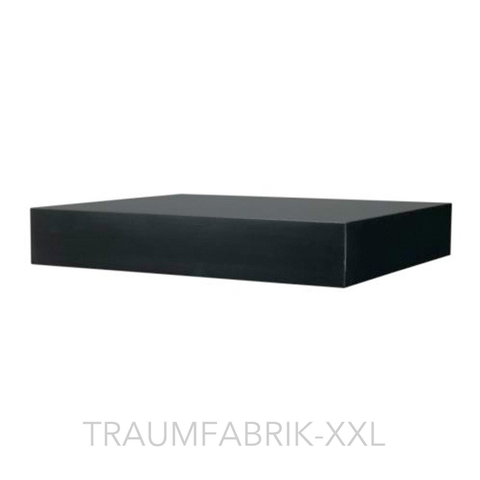ikea designer wandregal 30 26 cm regal schwarz lounge ablage b cherregal neu ovp traumfabrik xxl. Black Bedroom Furniture Sets. Home Design Ideas