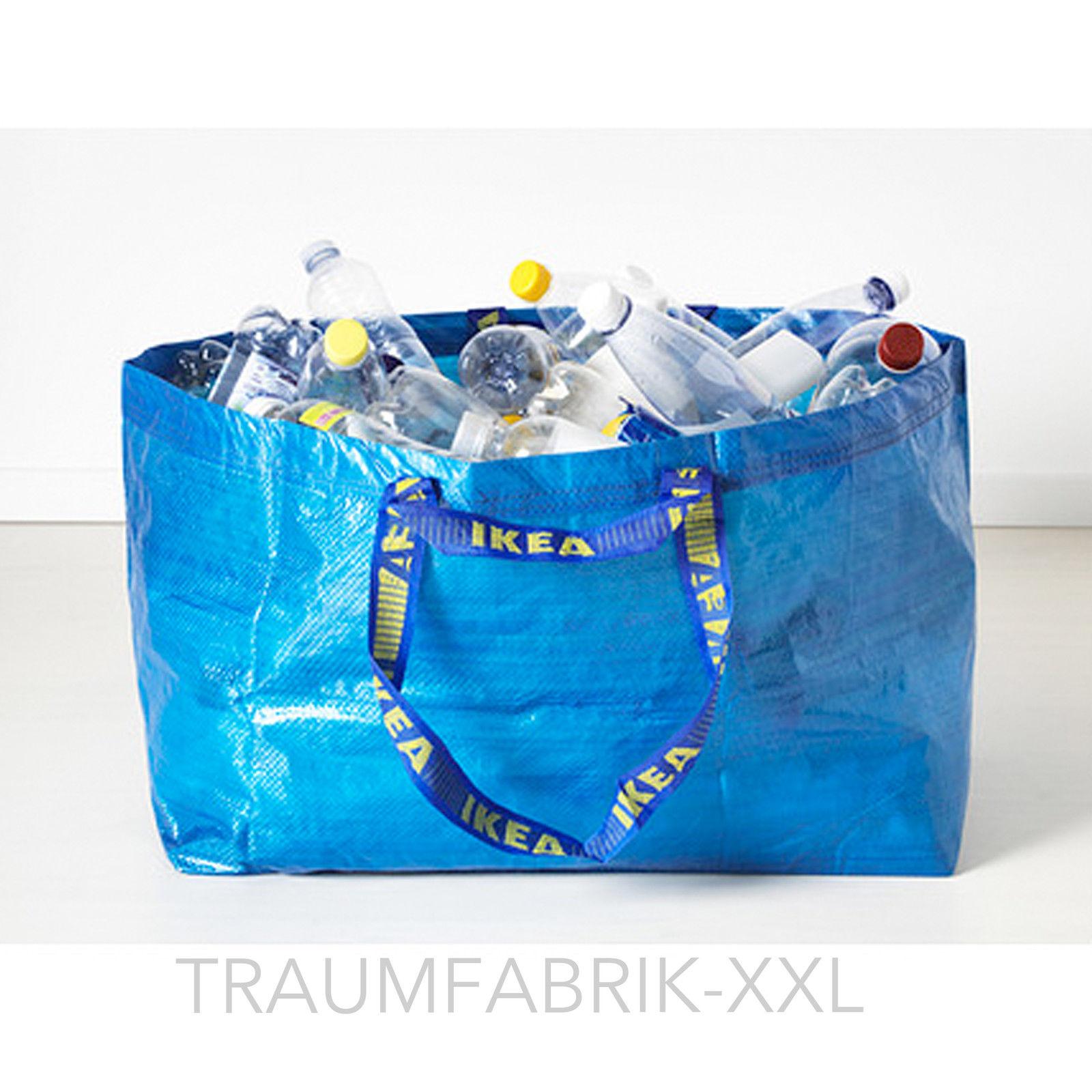 blaue ikea tasche