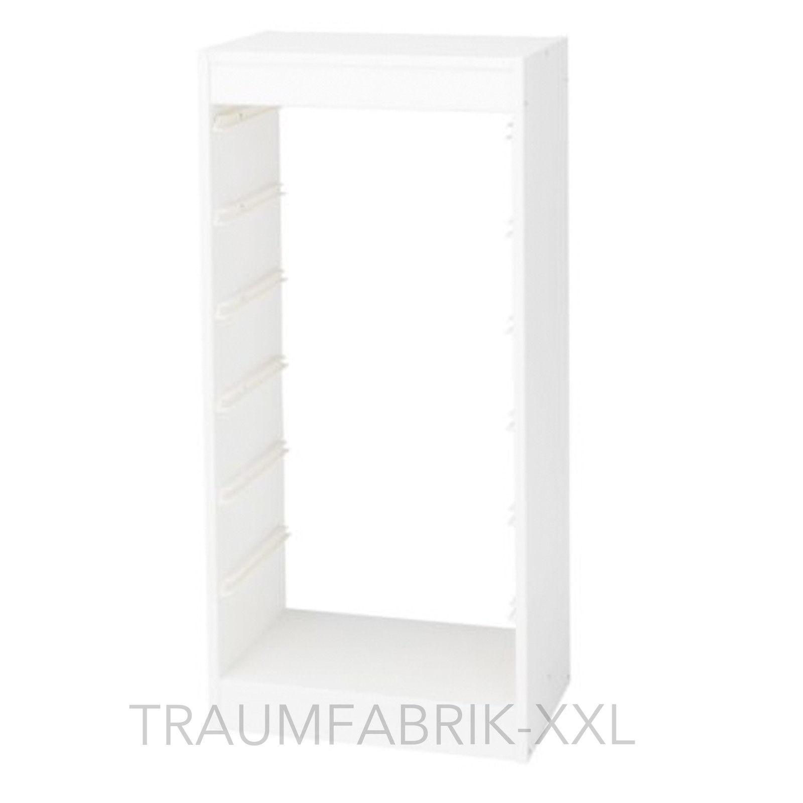 IKEA Regalrahmen 46x30x94 cm Aufbewahrung Kinder Regal Rahmen weiß ...