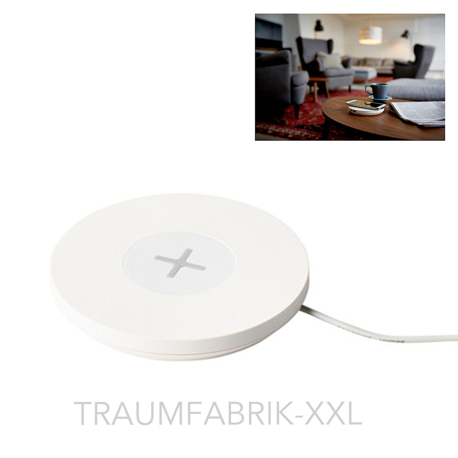 design ladestation f r 1 ger t handy weiss kabelloses laden dockingstation neu traumfabrik xxl. Black Bedroom Furniture Sets. Home Design Ideas
