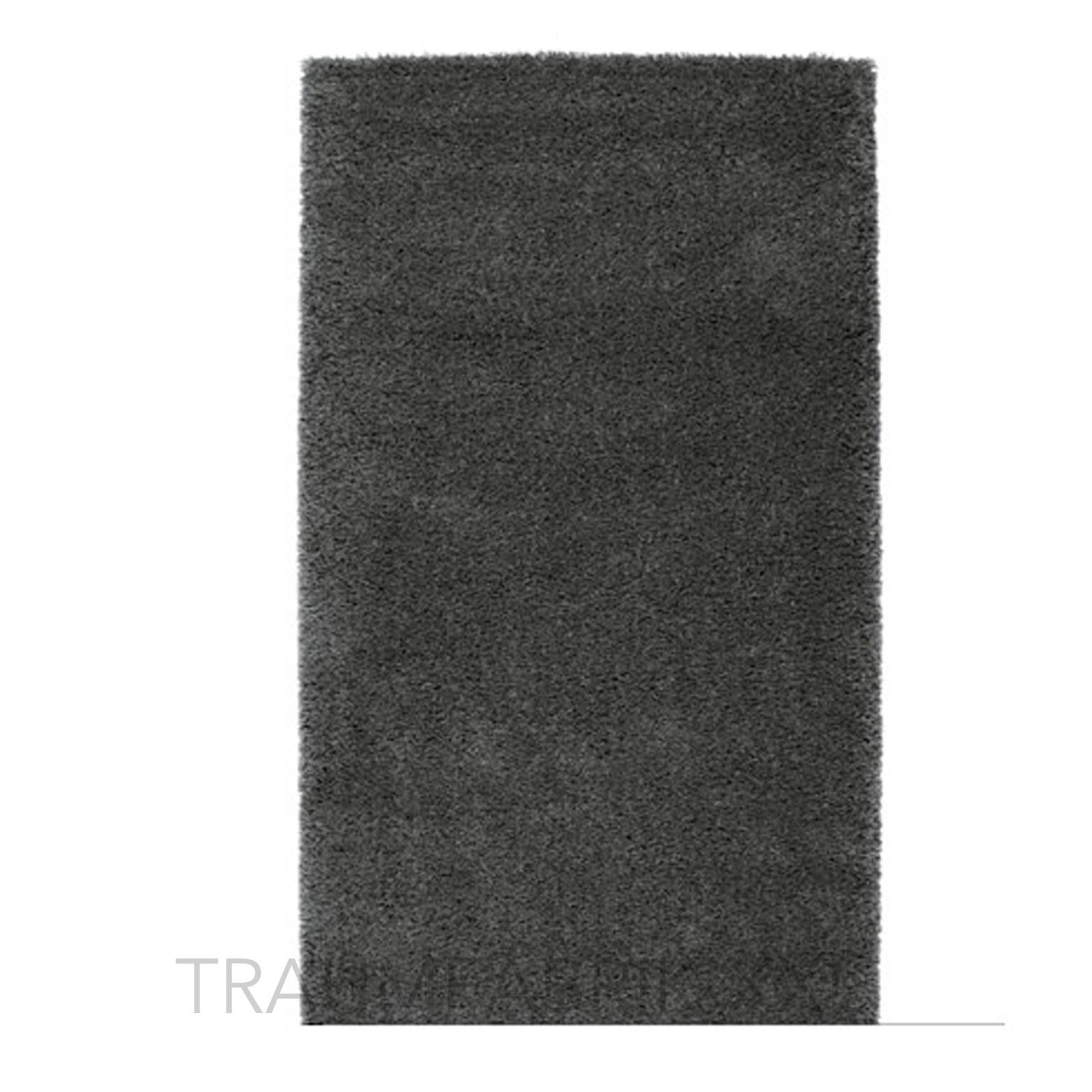 ikea adum teppich shaggy dkl grau langflor hochflor l ufer br cke 150 80 cm neu traumfabrik xxl. Black Bedroom Furniture Sets. Home Design Ideas