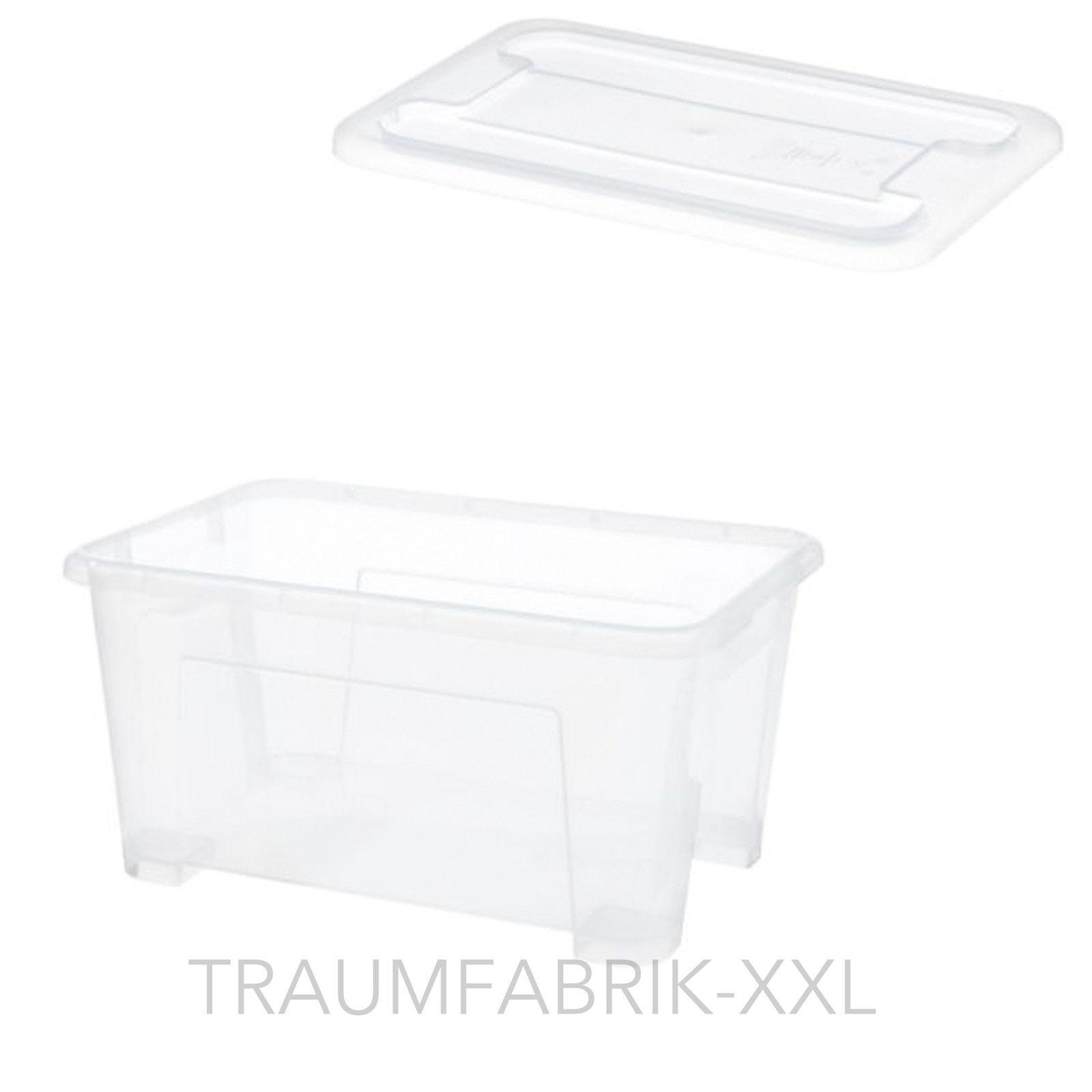 10x IKEA Boxen mit Deckel 5liter Kiste Spielzeugkiste ...