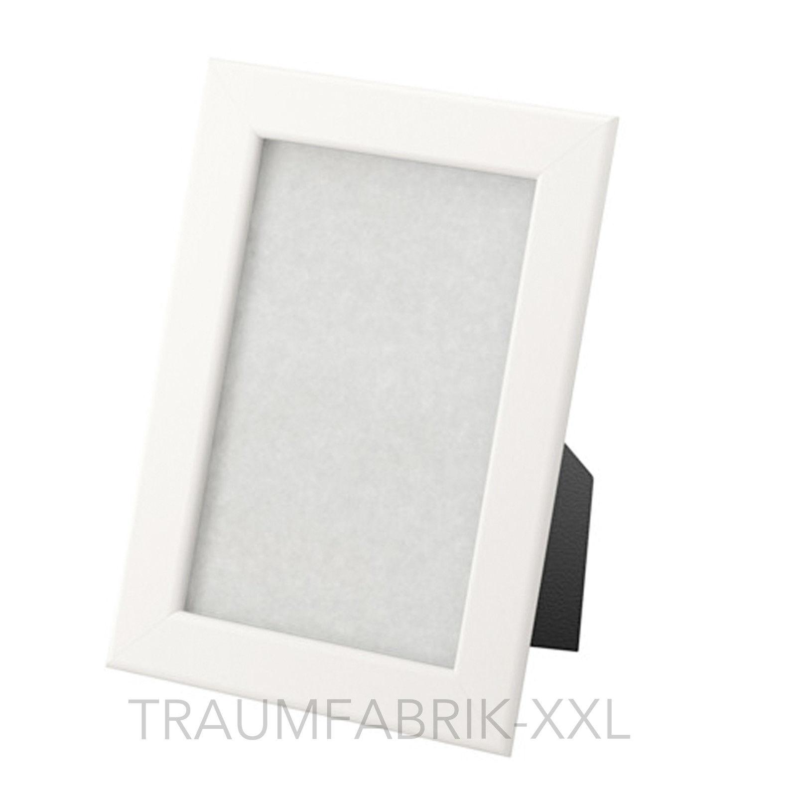 5 Stück IKEA FISKBO Rahmen Set 10x15cm weiß Bilderrahmen Fotorahmen ...