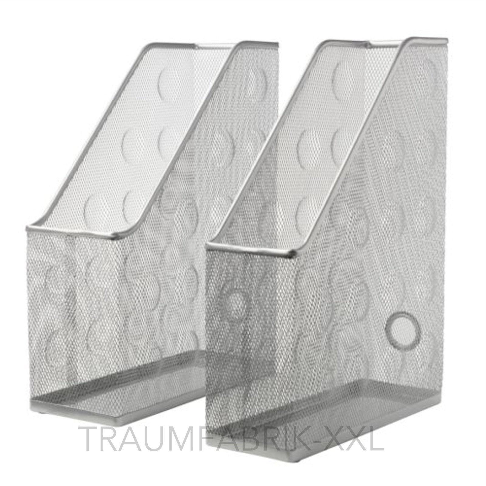2 x ikea zeitschriftensammler stehsammler stehordner aus. Black Bedroom Furniture Sets. Home Design Ideas