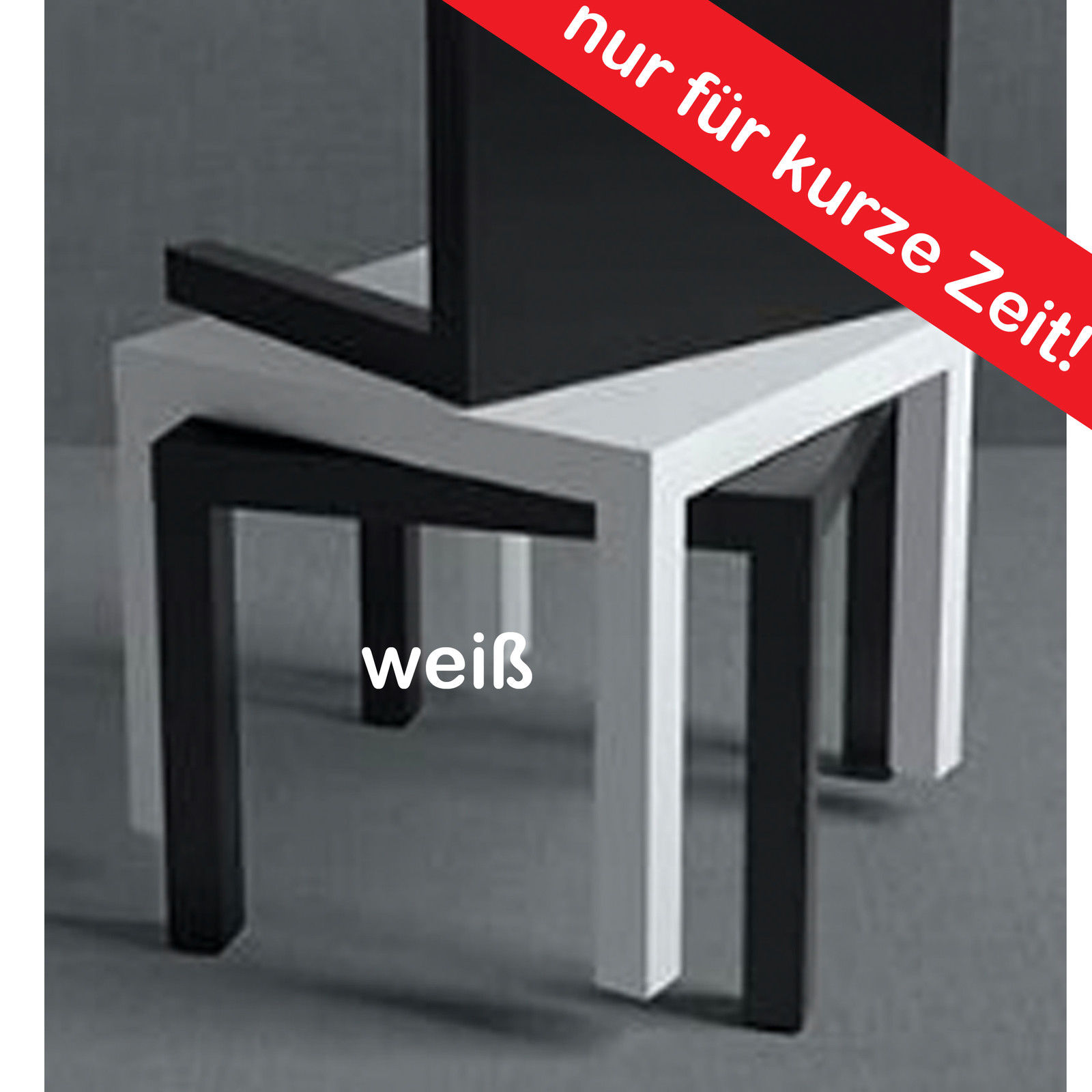 ikea ablagetisch loungetisch couchtisch beistelltisch tisch weiss 55x55cm neu traumfabrik xxl. Black Bedroom Furniture Sets. Home Design Ideas