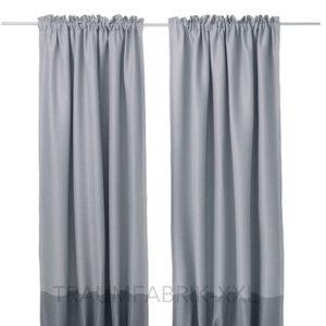 ikea borghild 2x gardinenstore paar wei je 145x300cm vorhang vorh nge gardinen traumfabrik xxl. Black Bedroom Furniture Sets. Home Design Ideas