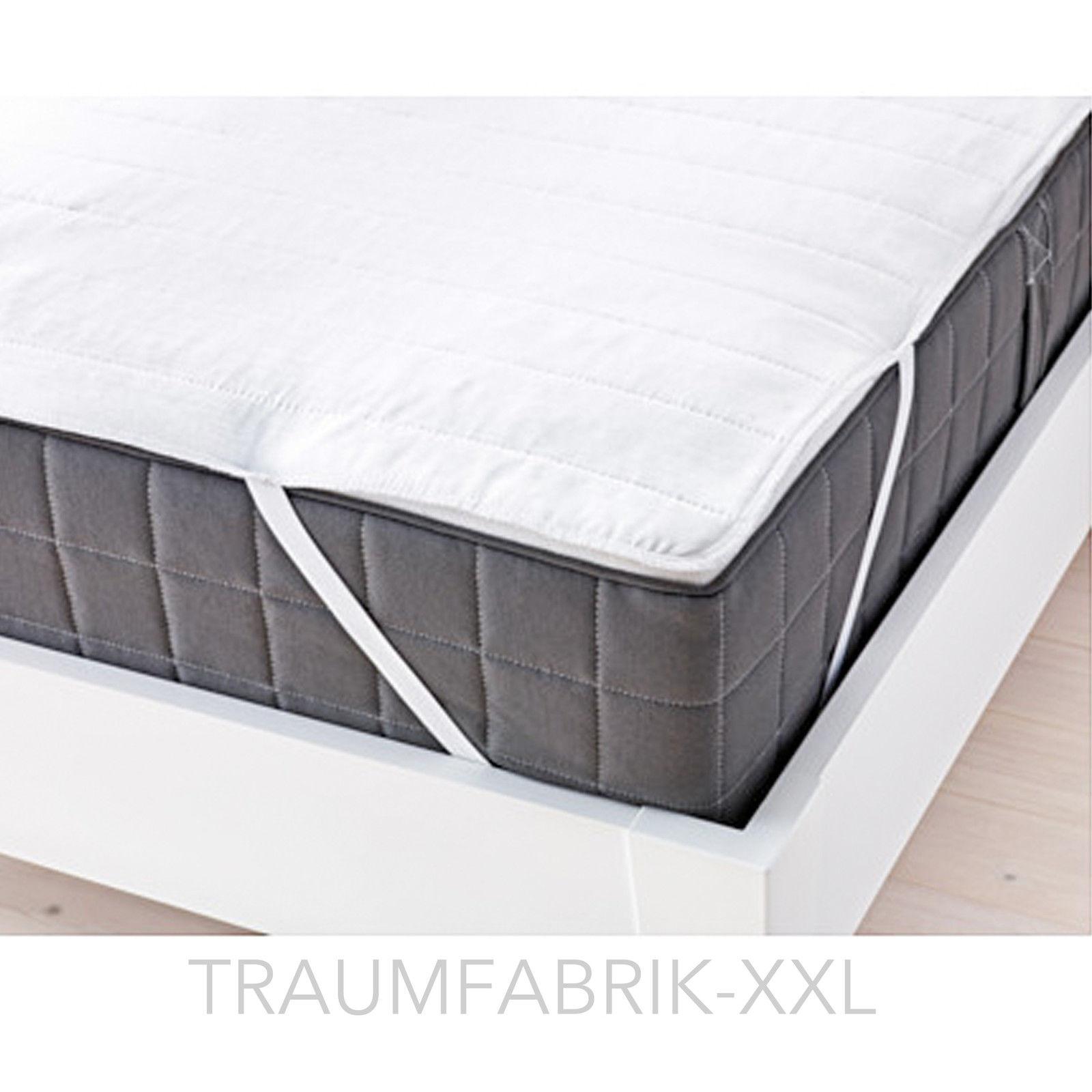 ikea matratzenschoner 160 200 cm matratzenschutz matratzen schutz auflage neu traumfabrik xxl. Black Bedroom Furniture Sets. Home Design Ideas