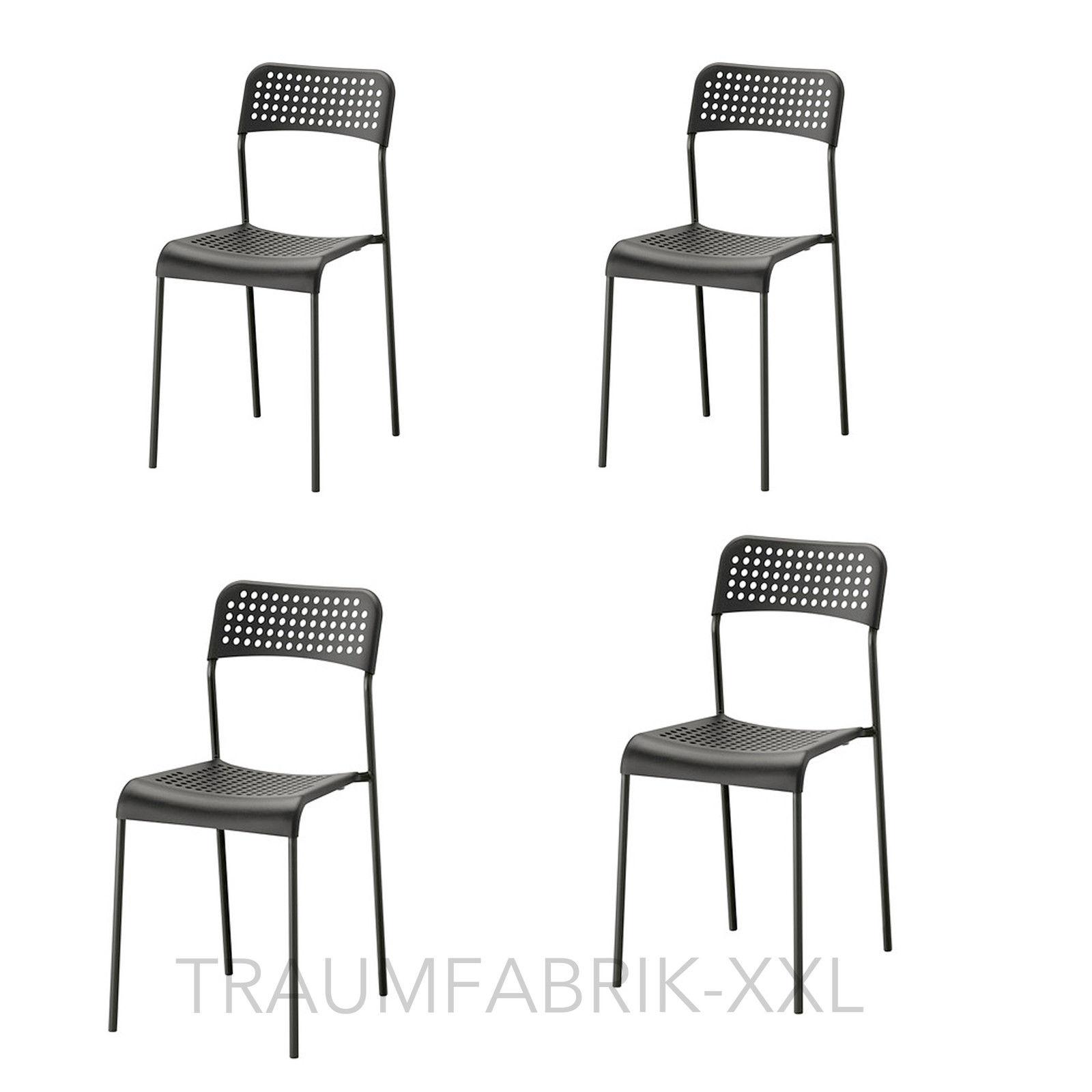 Exquisit Küchen Und Esszimmerstühle Dekoration Von 4x-schwarze-esszimmersthle-essgruppe-stuhlgruppe-sitzgruppe-kchen-stuhl-