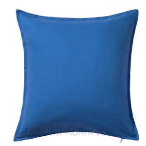 ikea gurli kissenh lle blau dekokissen kissenbezug 50 50 cm kissen bezug neu traumfabrik xxl. Black Bedroom Furniture Sets. Home Design Ideas