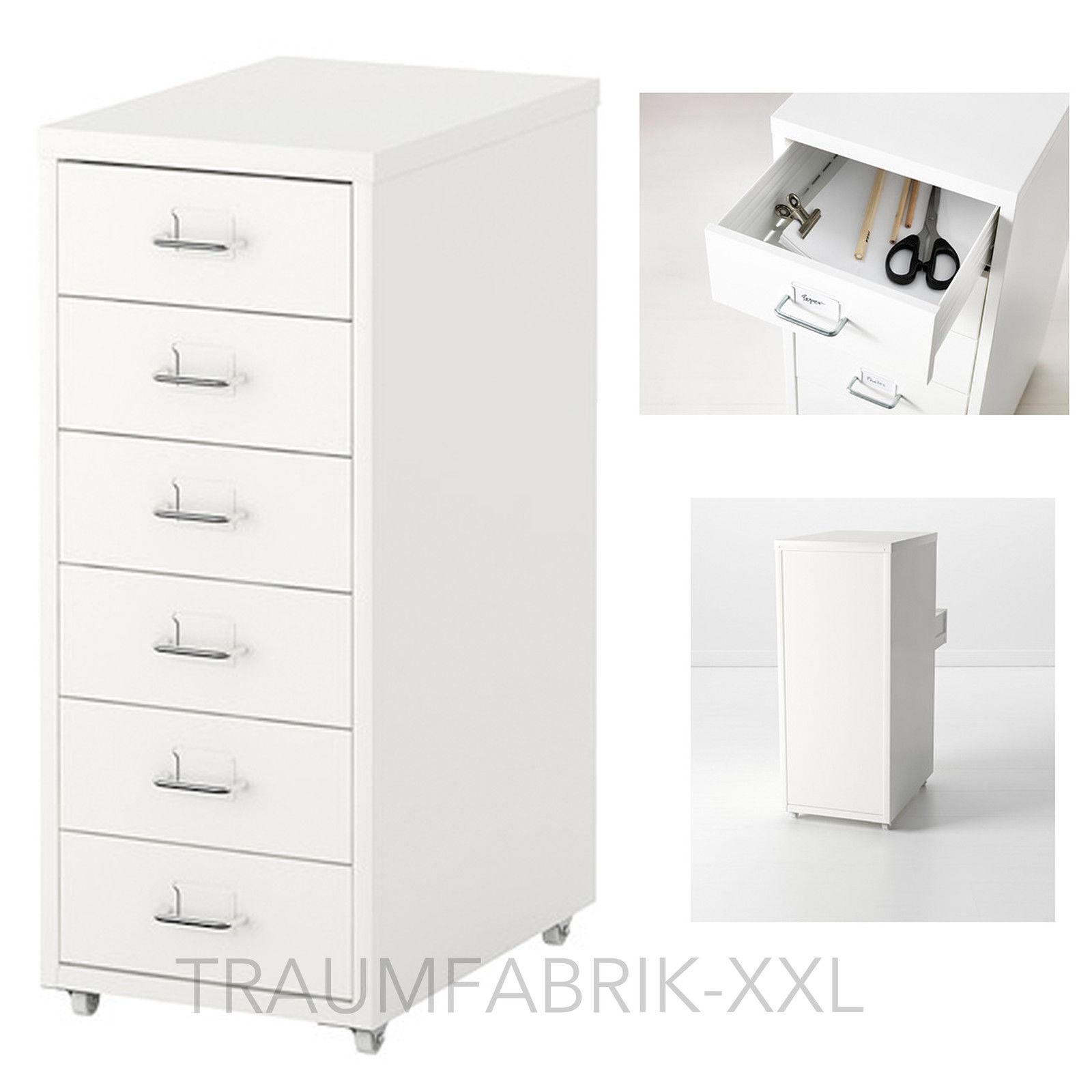 Ikea Bürocontainer ikea helmer schubladenelement mit rollen büroschrank weiß