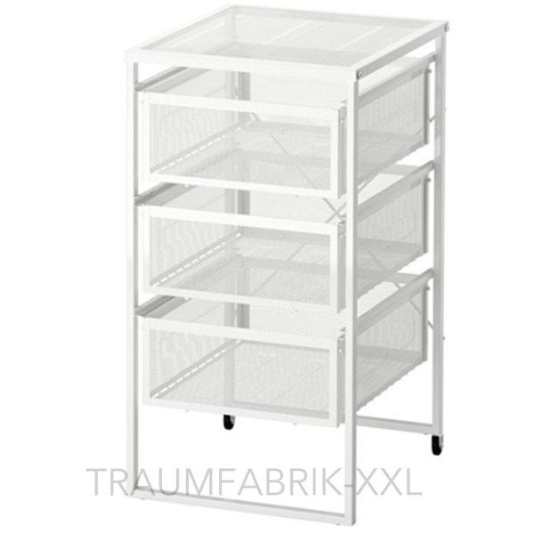 Ikea schubladenelement rollcontainer b roschrank schrank for Campingschrank ikea