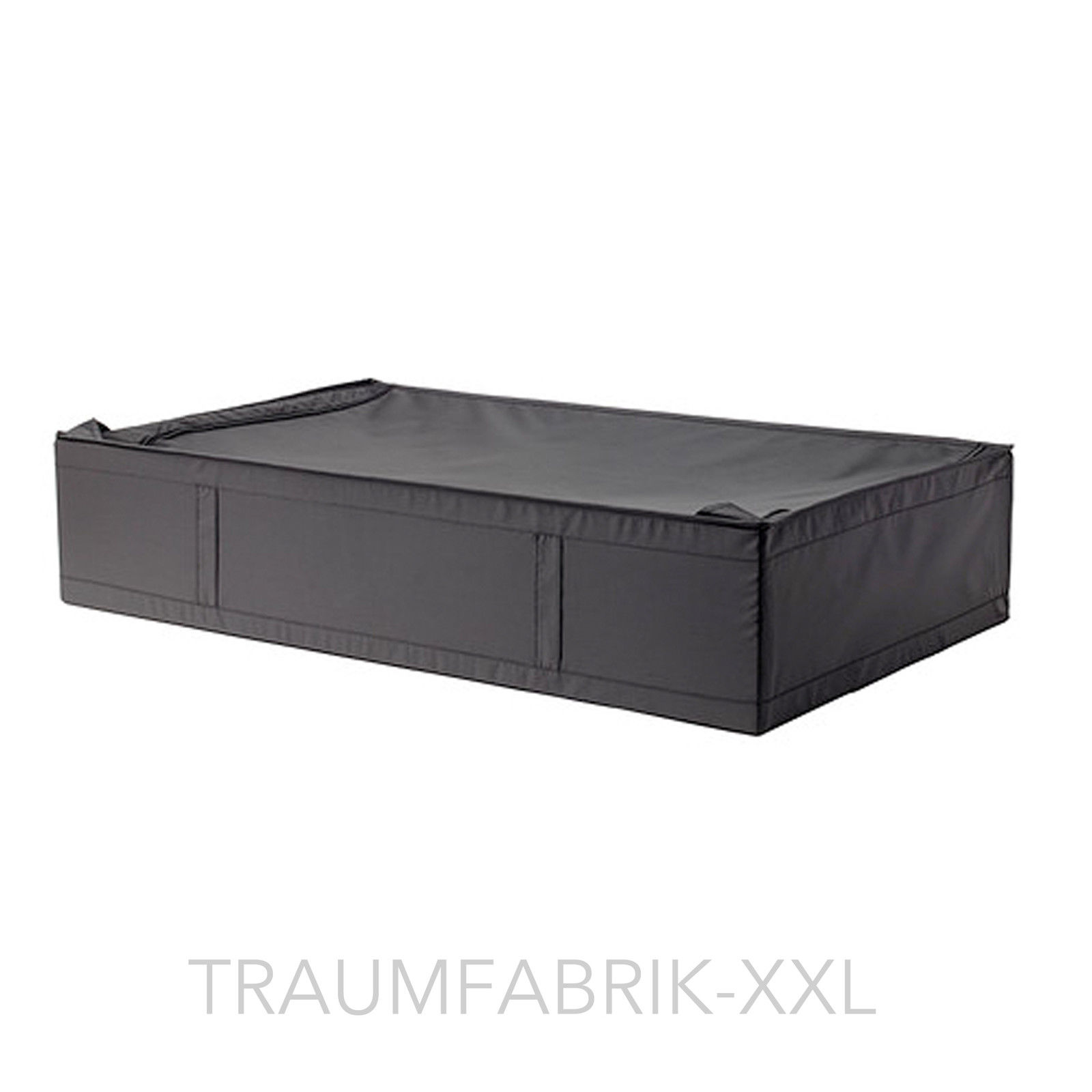 aufbewahrungsbox 93x55x19cm aufbewahrung bettdecke box tasche regalbox schwarz traumfabrik xxl. Black Bedroom Furniture Sets. Home Design Ideas