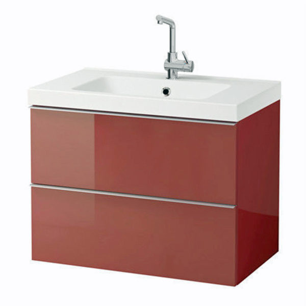 IKEA GODMORGON Waschbeckenunterschrank 80x47x58 Waschbecken ...