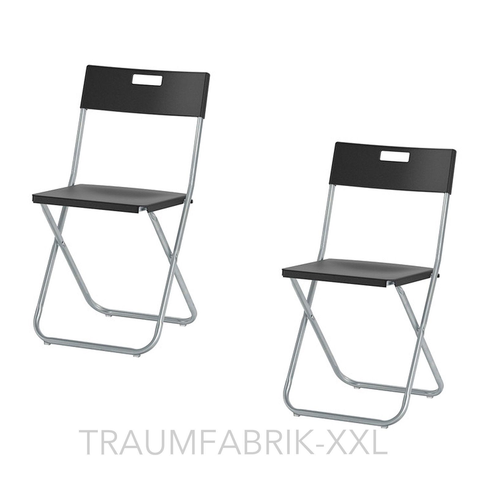 Klappstuhl ikea  2 IKEA Klappstühle Klappstuhl Büro Konferenz Besucher Stuhl Set ...