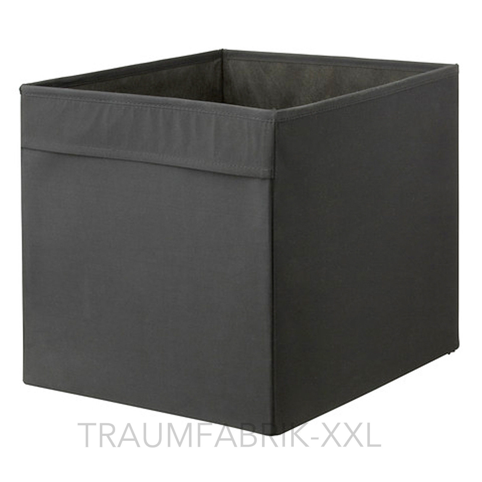 ikea dr na fach box f r expedit kallax regal kiste aufbewahrungsbox schwarz neu traumfabrik xxl. Black Bedroom Furniture Sets. Home Design Ideas
