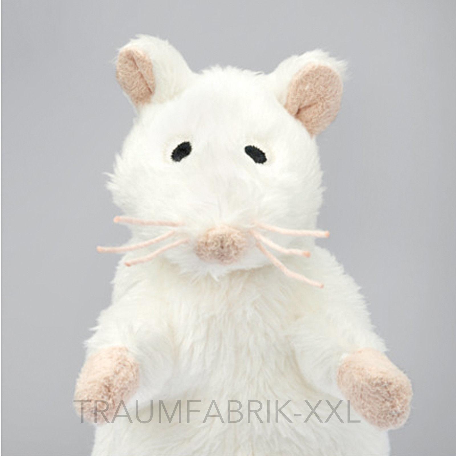 Ikea GOSIG MUS Kuscheltier Maus weiß Stofftier Plüschmaus Geschenk ...