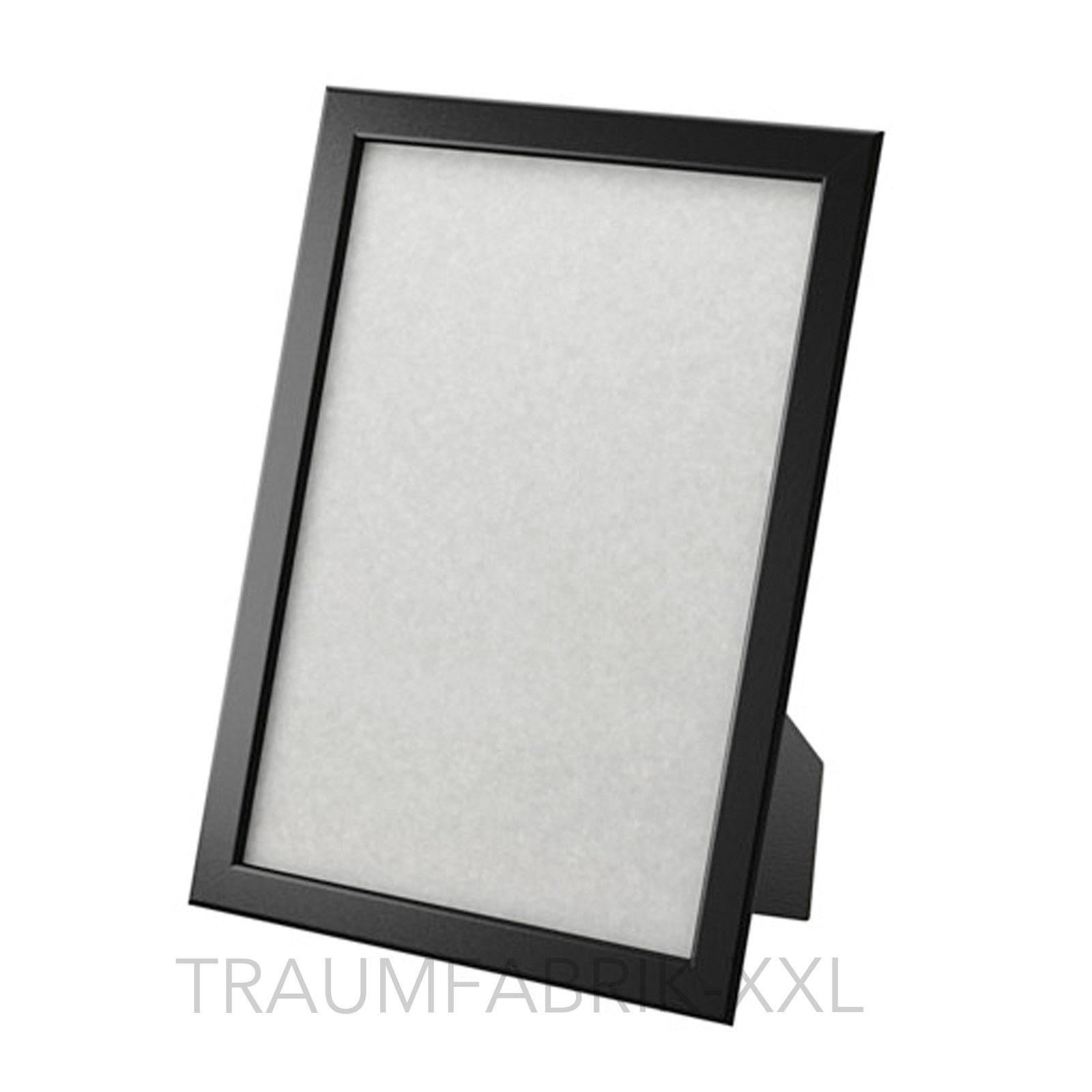 Ikea Fotorahmen ikea fiskbo bilderrahmen fotorahmen einrahmung schwarz 21 30 cm