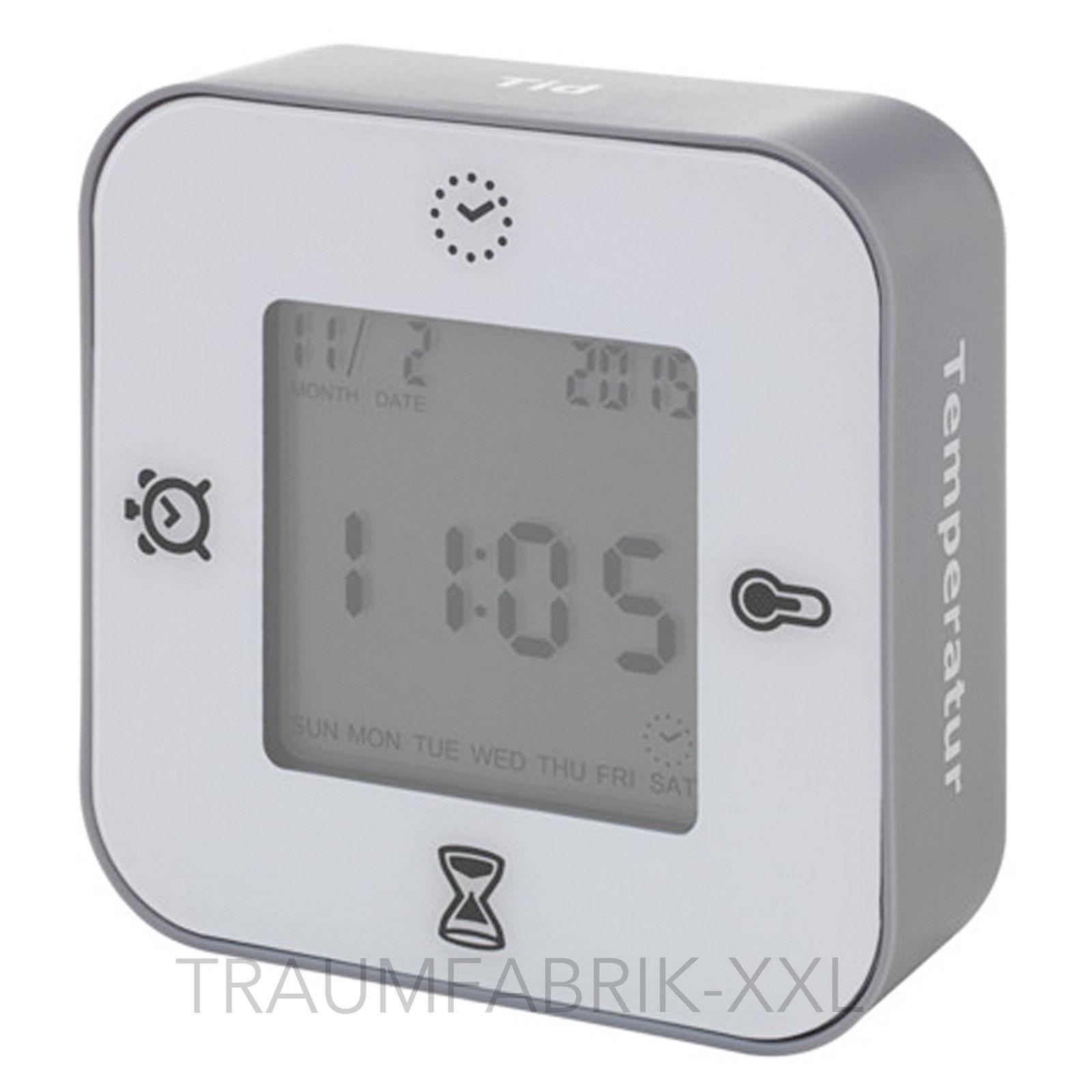ikea l ttorp uhr wecker mit thermometer timer einfach. Black Bedroom Furniture Sets. Home Design Ideas