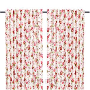Ikea rosali gardinenpaar set je 145x300cm landhaus vorhang for Ikea vorhang lila