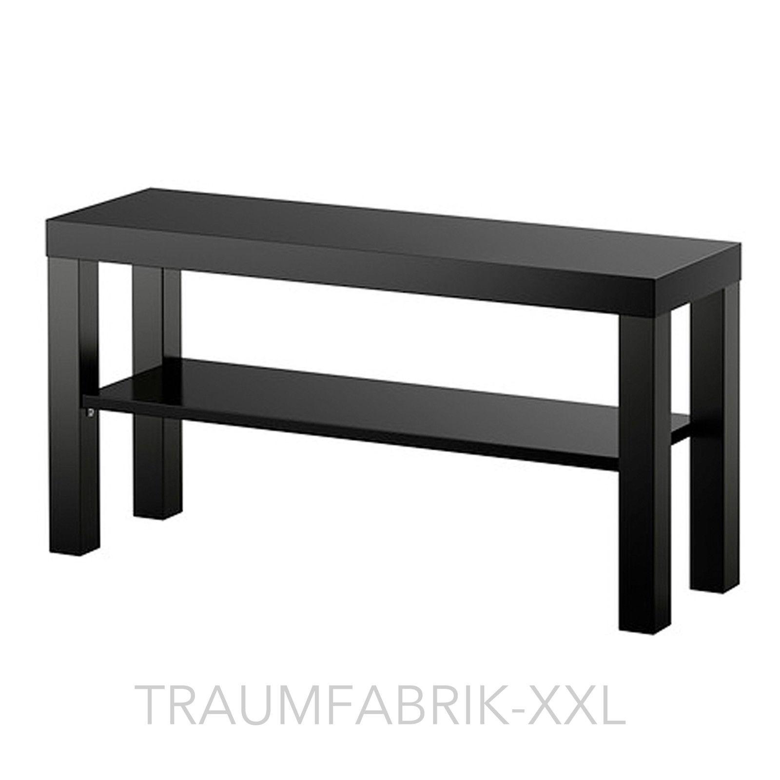 Ikea Fernsehtisch Schwarz Tv Regal Wohnzimmerregal 90 X 26cm