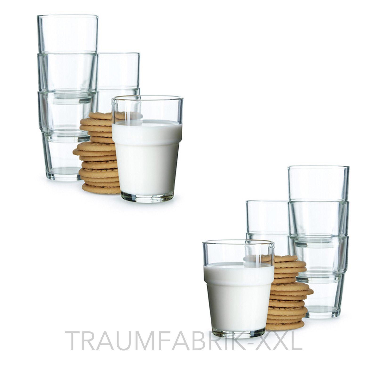 12 x ikea saftglas glas saftgl ser wasserglas wassergl ser. Black Bedroom Furniture Sets. Home Design Ideas