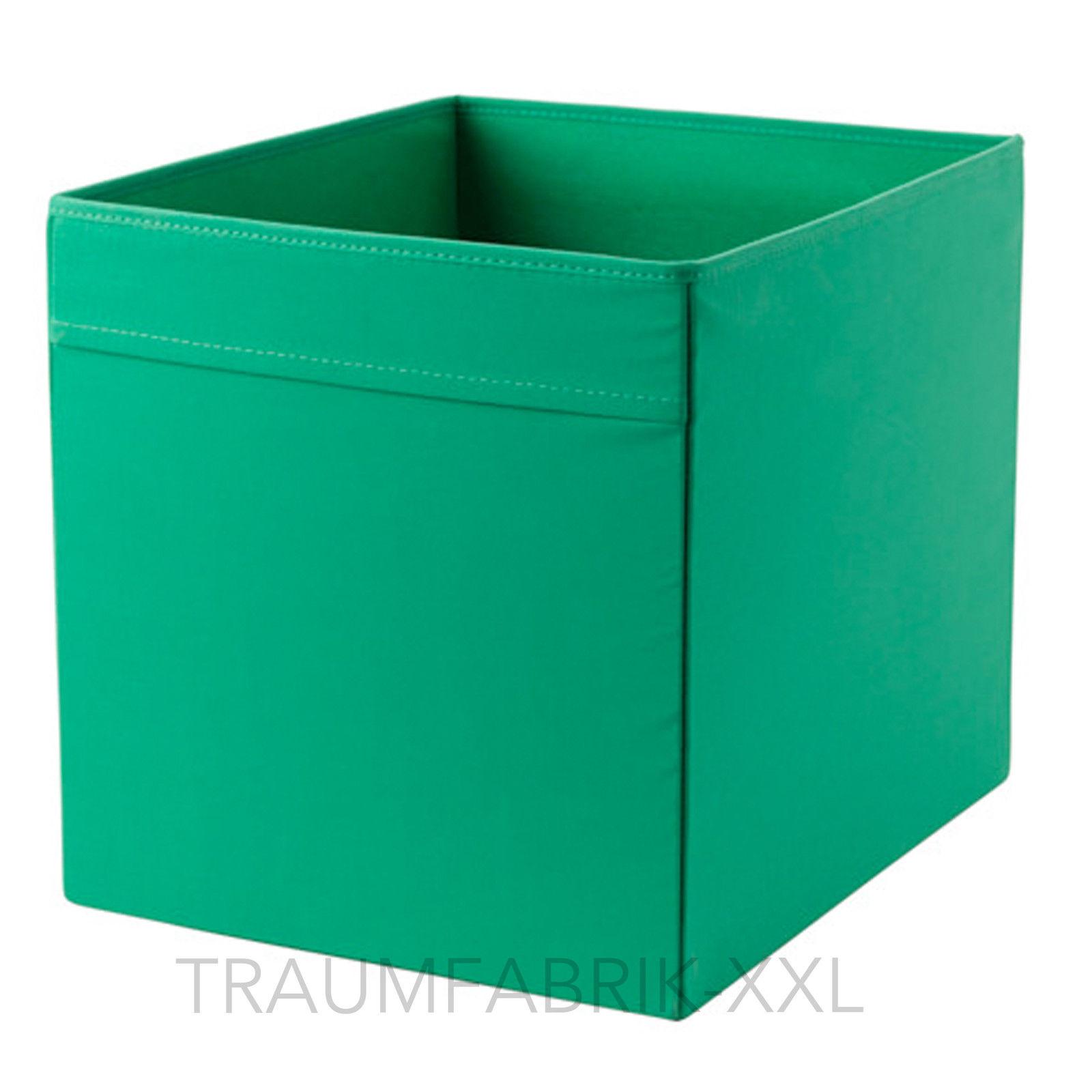 ikea dr na fach box f r expedit kallax regal kiste aufbewahrungsbox 33x33cm gr n traumfabrik xxl. Black Bedroom Furniture Sets. Home Design Ideas