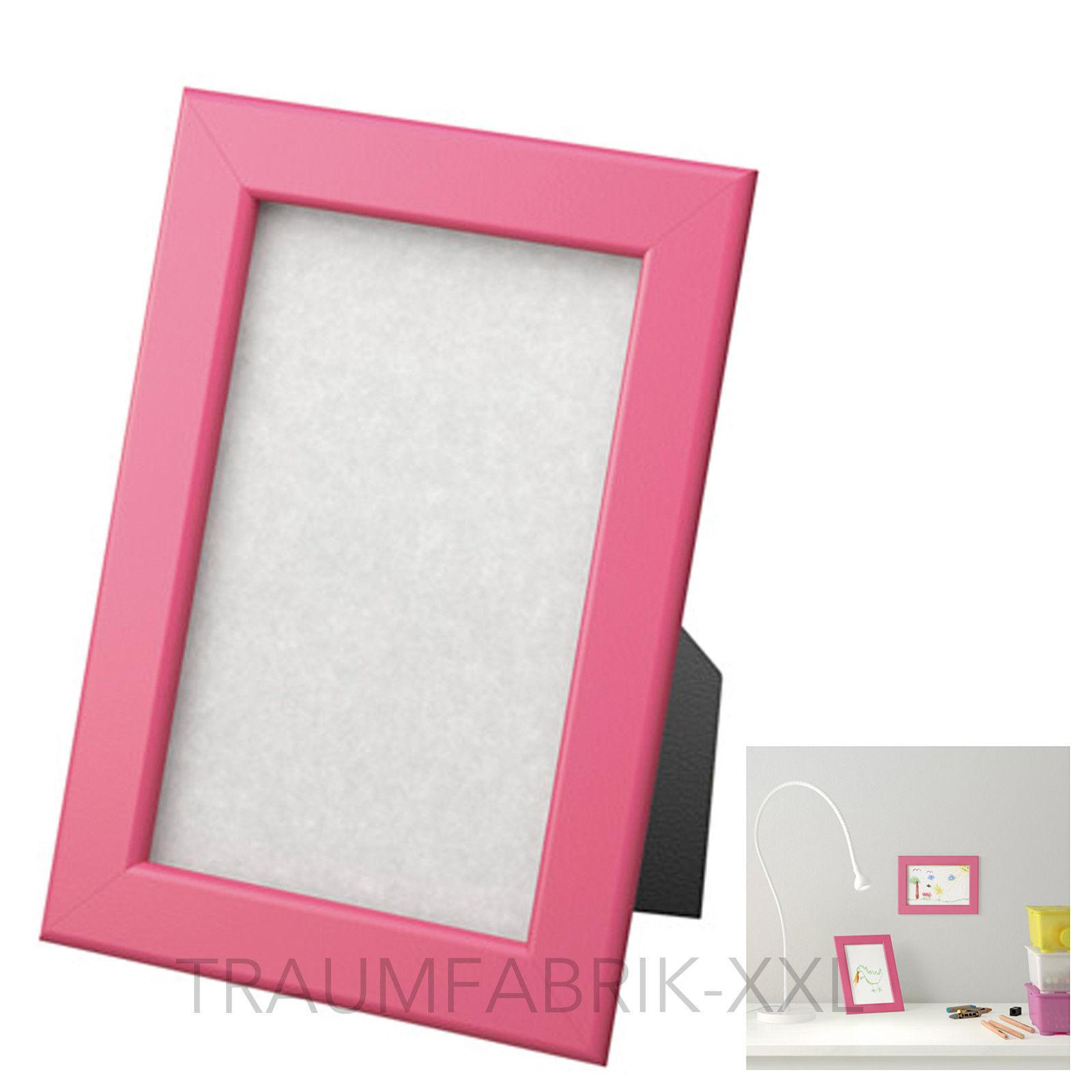 ikea fiskbo rahmen in rosa pink 10 15 cm bilderrahmen fotorahmen neu ovp traumfabrik xxl. Black Bedroom Furniture Sets. Home Design Ideas