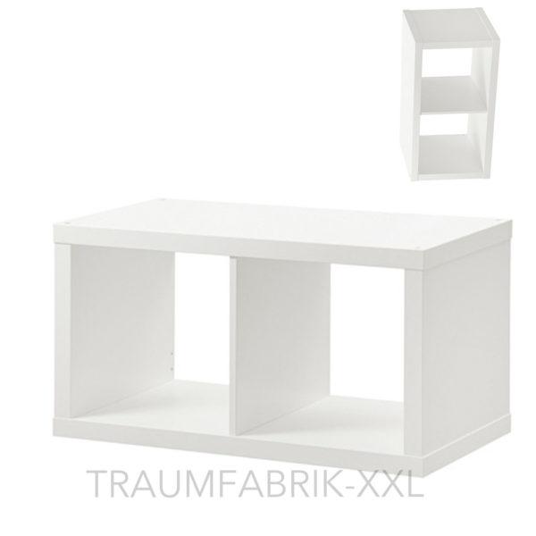 ikea kallax wandregal regal 77 42 cm standregal b cherregal wohnzimmer wei neu traumfabrik xxl. Black Bedroom Furniture Sets. Home Design Ideas
