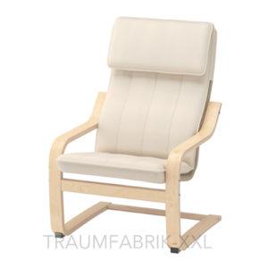 ikea po ng kindersessel birkenfurnier kinder sessel stuhl kinderzimmersessel neu traumfabrik xxl. Black Bedroom Furniture Sets. Home Design Ideas