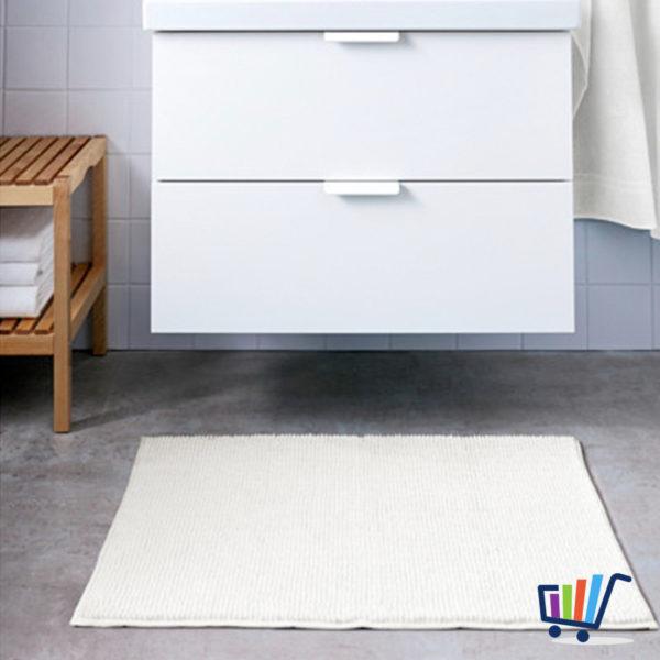 ikea toftbo duschmatte 60 90 cm wei matte vorleger badezimmermatte weich neu traumfabrik xxl. Black Bedroom Furniture Sets. Home Design Ideas