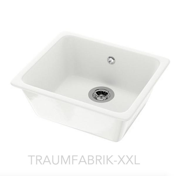 Spülbecken keramik  IKEA Keramikspüle Küchenspüle Einbauspüle Spüle Spülbecken + Zubehör ...