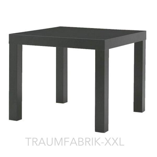 ikea lack beistelltisch schwarz couchtisch fernsehtisch. Black Bedroom Furniture Sets. Home Design Ideas