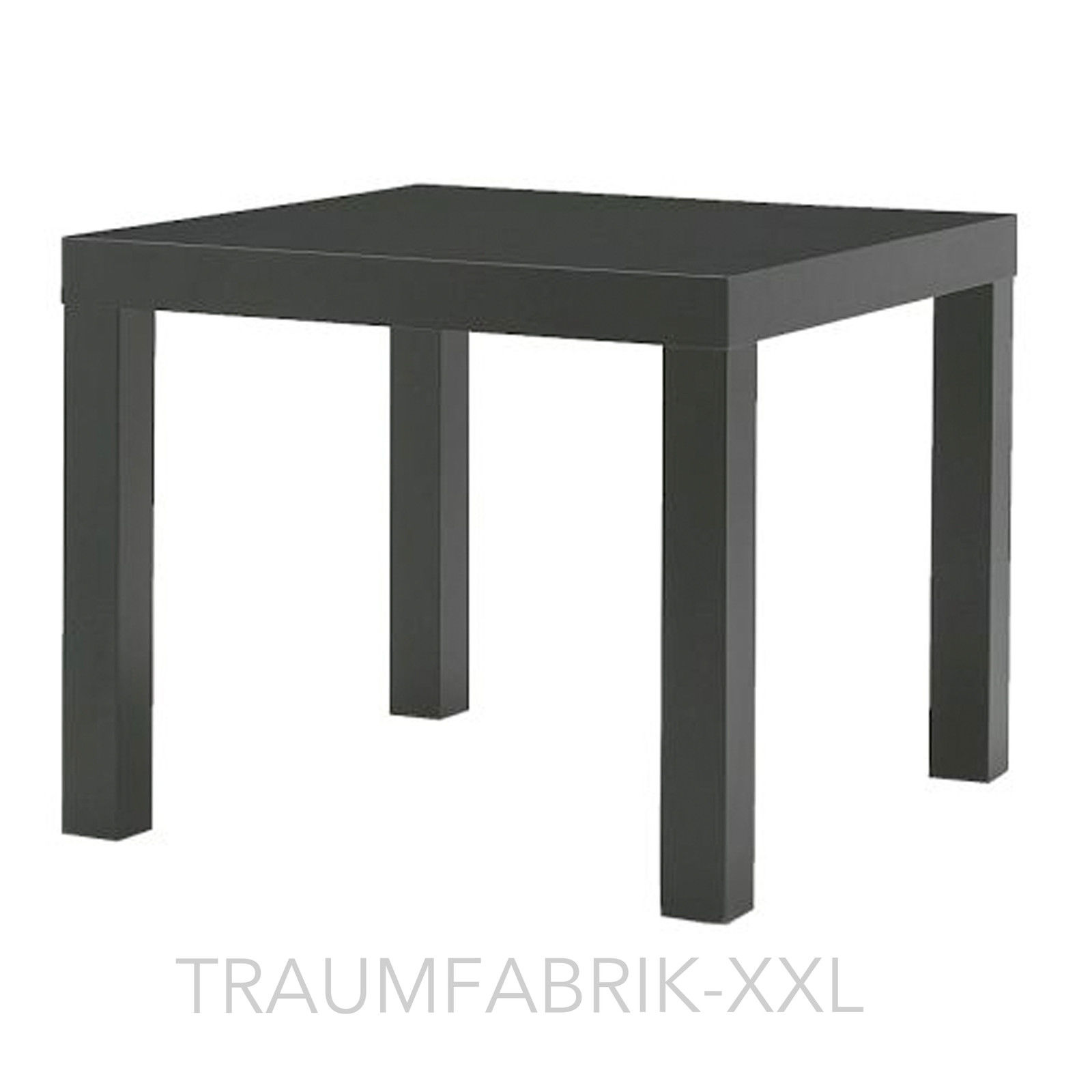 ikea lack beistelltisch schwarz couchtisch fernsehtisch wohnzimmertisch tisch traumfabrik xxl. Black Bedroom Furniture Sets. Home Design Ideas