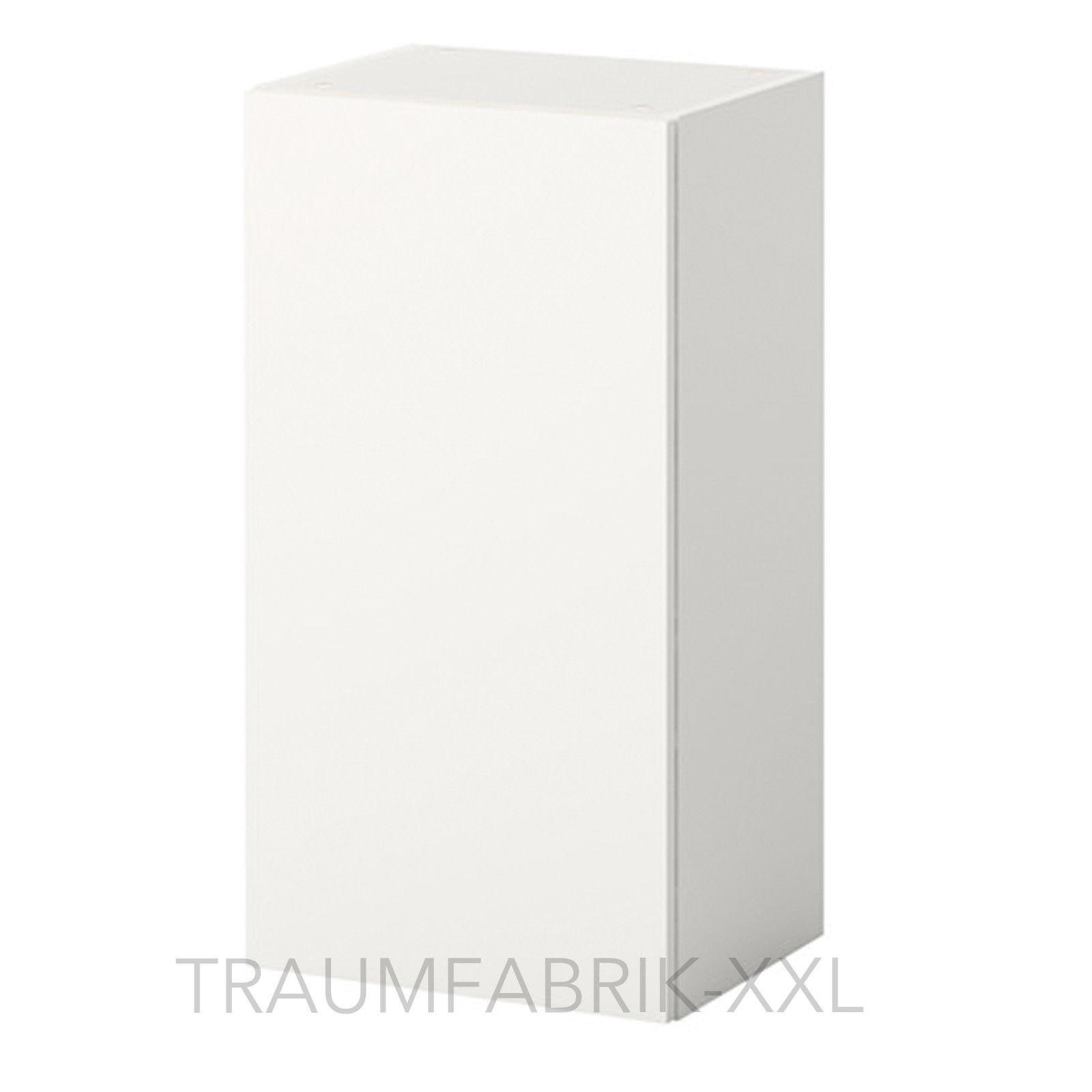 Küchenschrank weiß ikea  IKEA Wandschrank mit Tür weiß 40x31x75 cm Küchenschrank Hängeschrank ...