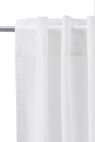 IKEA 2 Gardinenschals Gardinenschal Vorhang Schlaufenschal Gardine