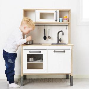 ikea duktig holz spiel k che kinder baby wohnen ober unterteil ovp bpa frei traumfabrik xxl. Black Bedroom Furniture Sets. Home Design Ideas