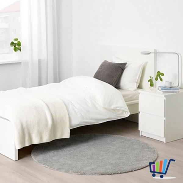 ikea teppich rund grau. Black Bedroom Furniture Sets. Home Design Ideas