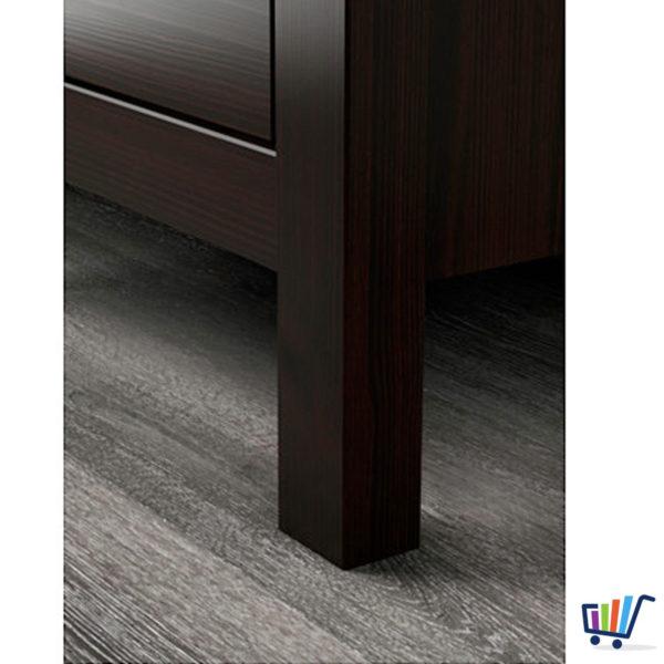 ikea hemnes kommode 2 schubladen schwarzbraun nachtkonsole nachttisch schrank traumfabrik xxl. Black Bedroom Furniture Sets. Home Design Ideas