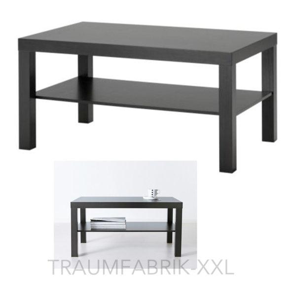 IKEA LACK Couchtisch 90x55 cm Wohnzimmertisch schwarz Ablagetisch Lounge  Tisch