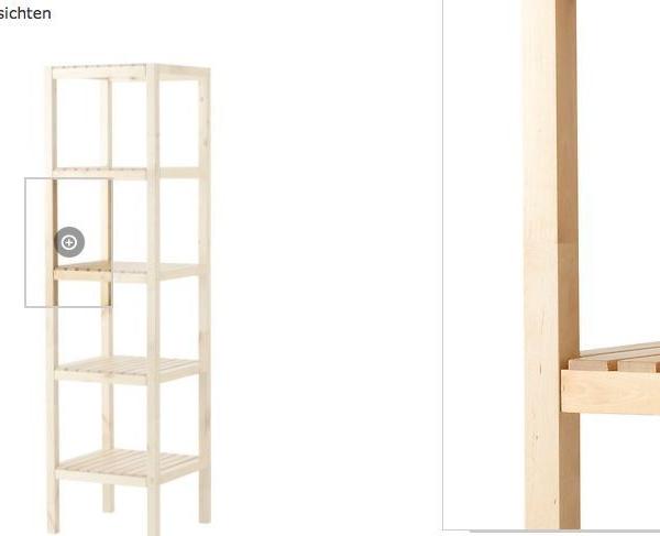IKEA Regal Birke Badregal Standregal Holzregal Badmöbel Lagerregal 140cm NEU  Traumfabrik XXL