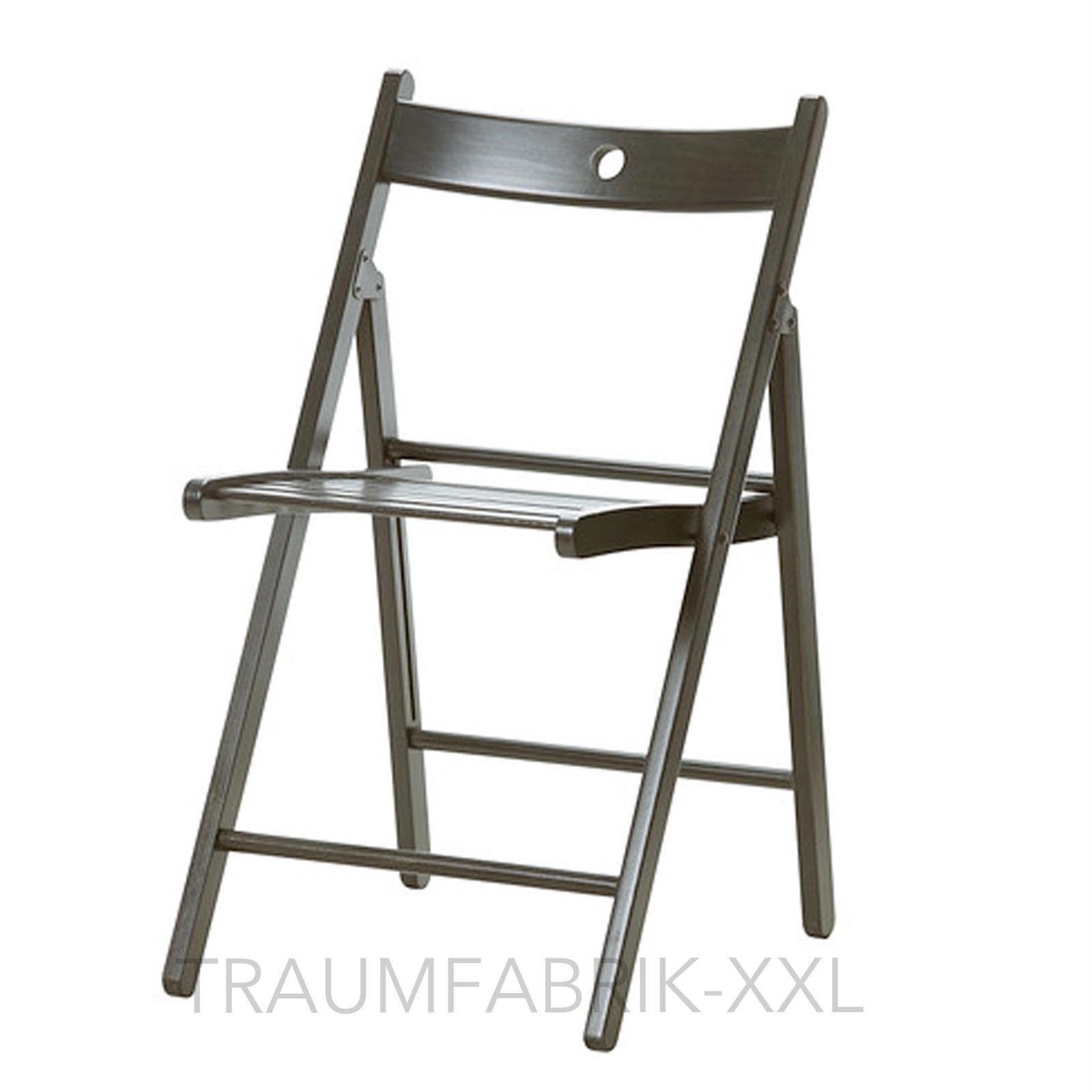 Klappstuhl design  IKEA TERJE Klappstuhl schwarz Massivholz Holzstuhl Design Stuhl ...