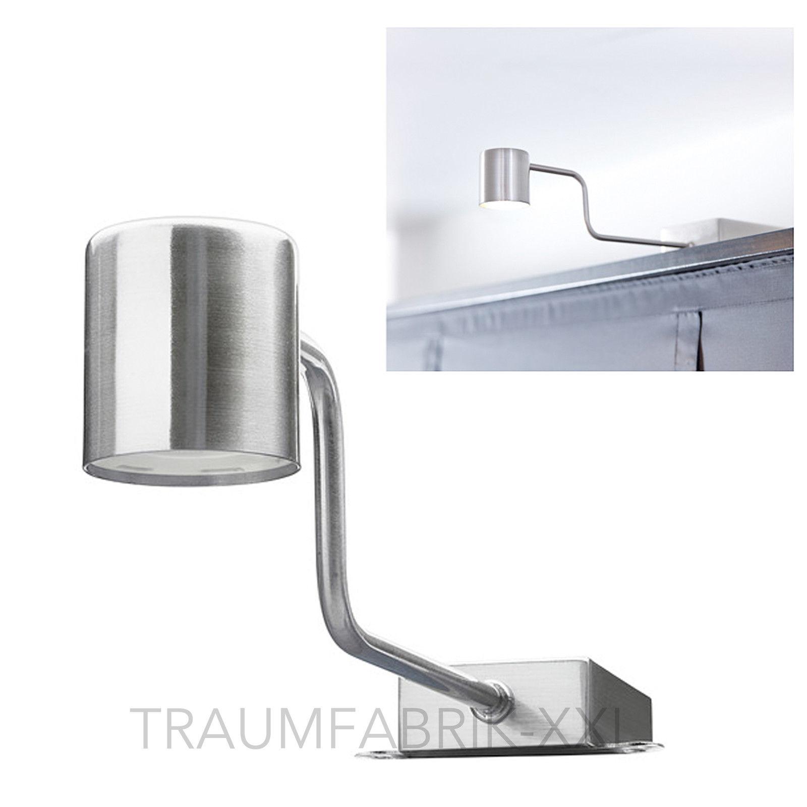 IKEA URSHULT LED Schrankbeleuchtung Silber Vitrinenbeleuchtung Spot Lampe  NEU | Traumfabrik XXL