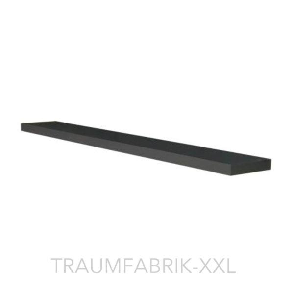 ikea designer wandregal 110 26 cm regal schwarz braun frei schwebend ablage neu traumfabrik xxl. Black Bedroom Furniture Sets. Home Design Ideas